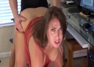 Mommy loves taking cock from behind