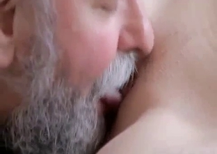Ponytailed daughter seducing her own father
